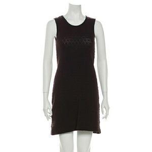 D&G Jeans Knit Mini Dress Black Brown Sz 4